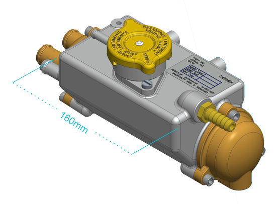 Thermex Seakeeper Heat Exchanger
